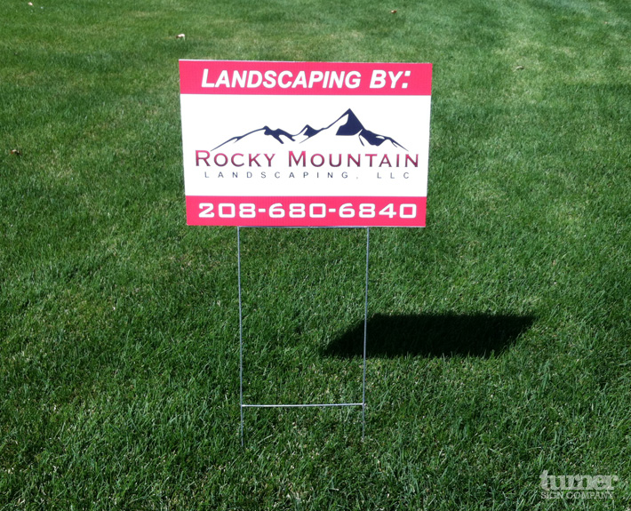 yard signs yard signs are the perfect solution for small temporary