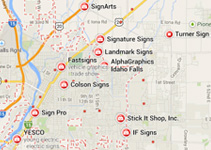 Where to buy Signs in Idaho Falls