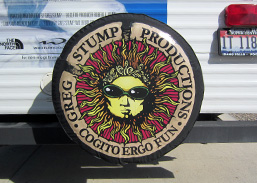 Tire Cover Decal