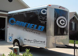 Trailer Wrap for Canfield