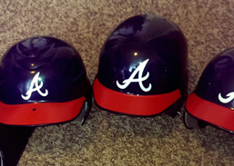 Decals for Baseball Helmets and Hard Hats