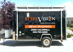 Steel Visions Trailer Decals