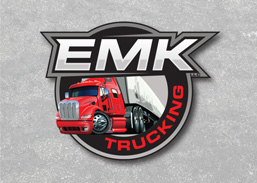 Logo Design done in Idaho Falls for a trucking company