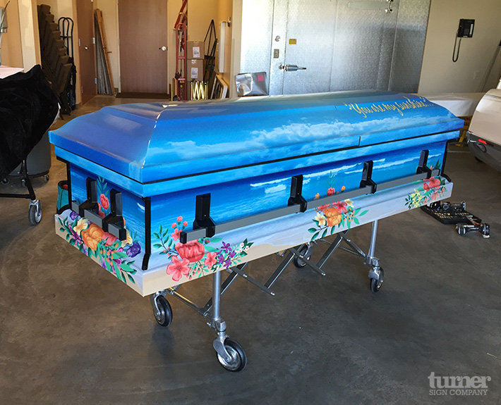 Casket Wrap Turner Sign Co