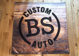 Banner and logo done for bs custom auto