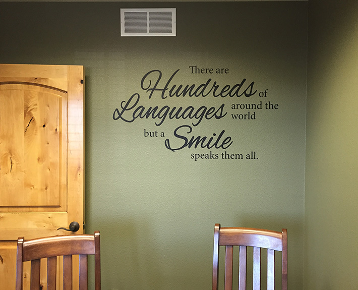vinyl wall decals for dental office