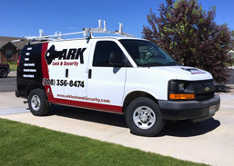Ark Locksmith van wrap decals