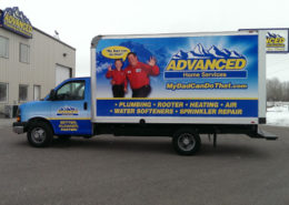 Advanced Box truck wrap